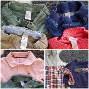8 Piece Bundle of Boy's 9-12month Clothing
